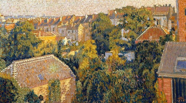 Rooftops - Georges Lemmen