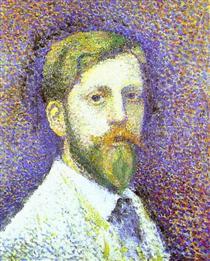 Self-Portrait - Жорж Леммен