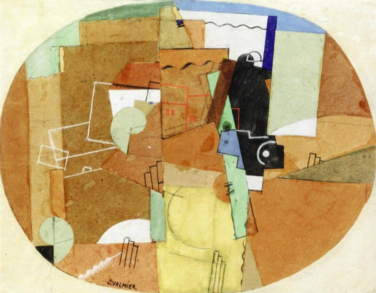 Cubist Composition, 1920 - Georges Valmier