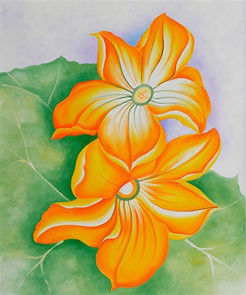Squash Blossoms, 1925 - Georgia O'Keeffe