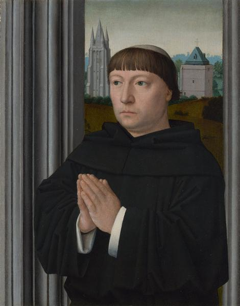 An Augustinian Friar Praying, c.1515 - Gerard David