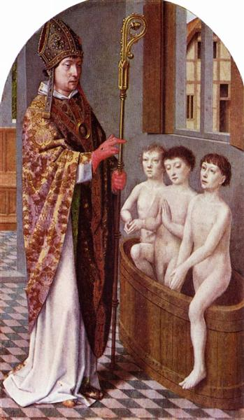 Two Legends of St. Nicholas, c.1500 - c.1510 - Gerard David