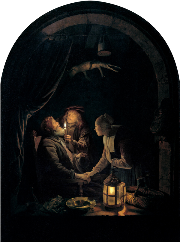 Dentist By Candlelight C 1660 C 1665 Gerrit Dou