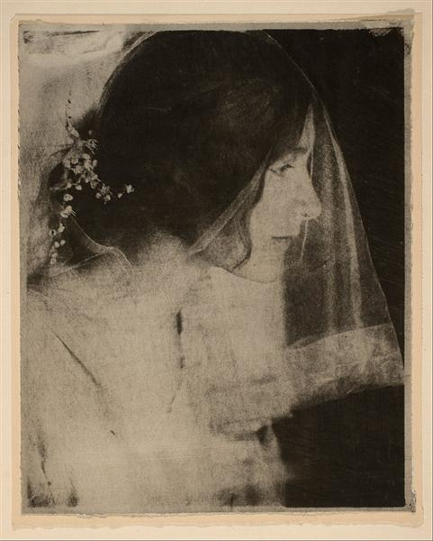 The Bride - Gertrude Kasebier