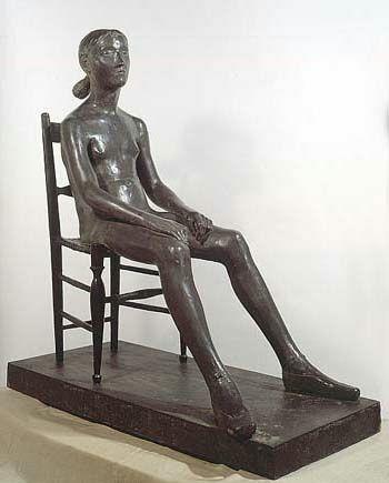 Child in Chair - Giacomo Manzu