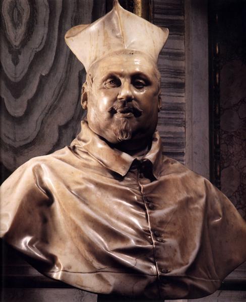 Cardinal Scipione Borghese, 1632 - Gian Lorenzo Bernini