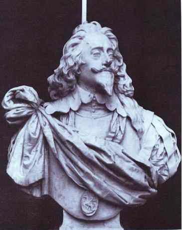 Charles I, King of England - Gian Lorenzo Bernini