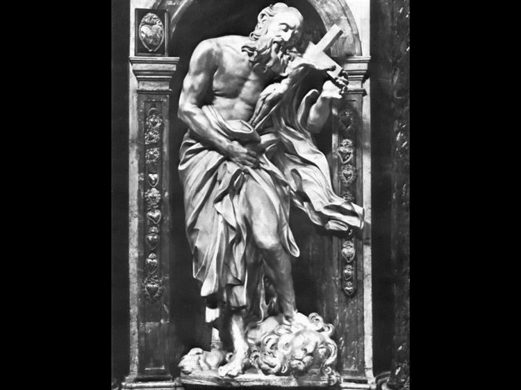 Saint Jerome, 1661 - 1663 - Gian Lorenzo Bernini