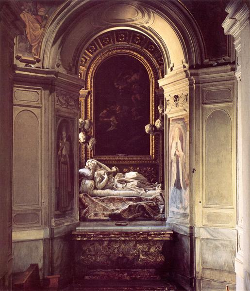 The Blessed Lodovica Albertoni, 1671 - 1674 - Gian Lorenzo Bernini