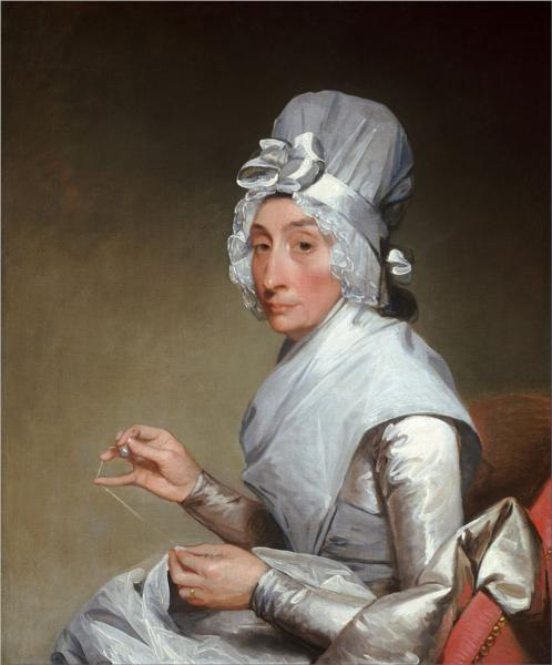 Catherine Brass Yates (Mrs. Richard Yates), 1794 - Gilbert Stuart