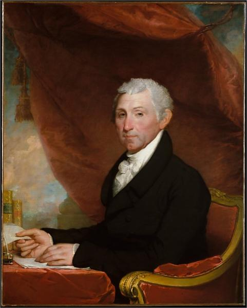James Monroe, 1822 - Gilbert Stuart
