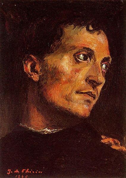 Portrait of a man, 1965 - Giorgio de Chirico