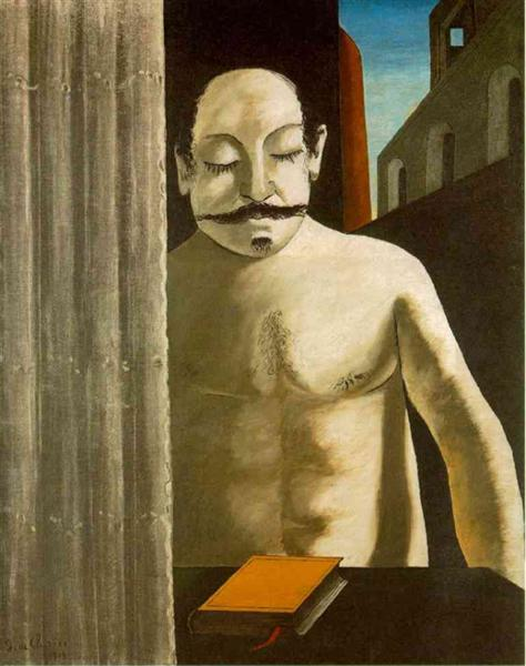 The Child's Brain, 1917 - Giorgio De Chirico