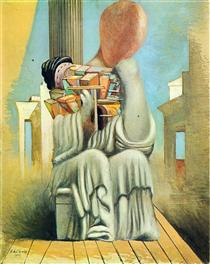 The Terrible Games - Giorgio de Chirico