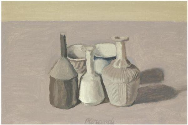 Natura Morta, 1956 - Giorgio Morandi