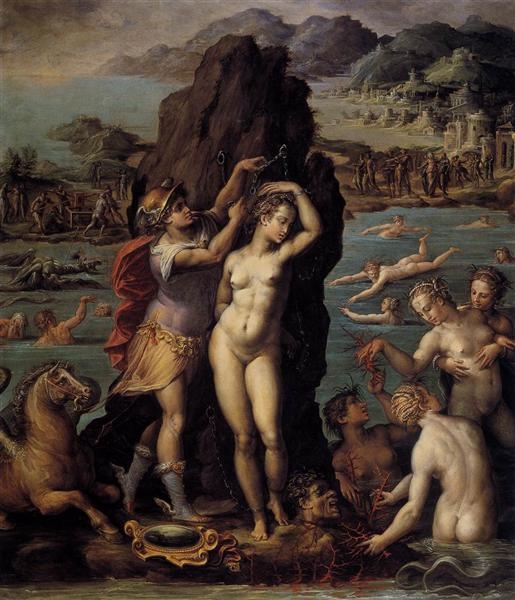 Perseus and Andromeda, 1572 - Giorgio Vasari