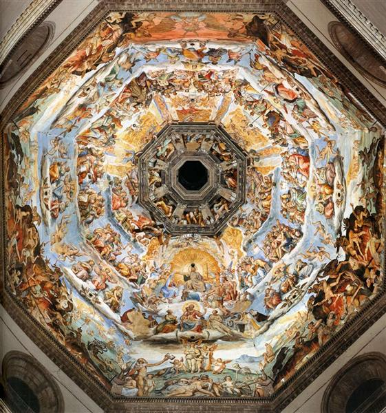 The Last Judgment - Vasari Giorgio