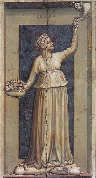 Charity, 1306 - Giotto
