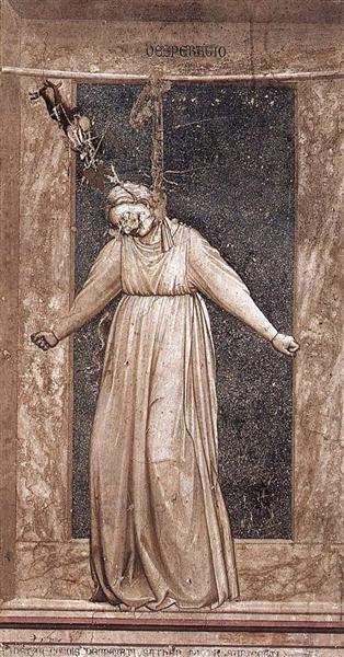 Desperation, 1306 - Giotto
