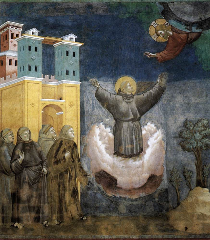 Ecstasy of St. Francis - Giotto - WikiArt.org - encyclopedia of visual arts