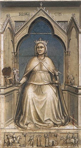 Justice, 1306 - Giotto