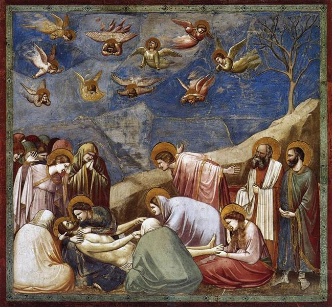 Lamentation (The Mourning of Christ), c.1304 - c.1306 - Giotto