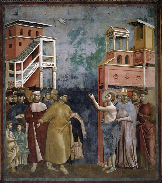 St. Francis Renounces all Worldly Goods, 1297 - 1299 - Giotto