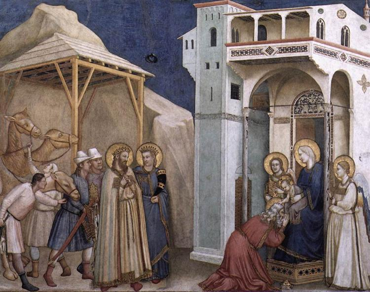 The Adoration of the Magi, c.1311 - c.1320 - Giotto