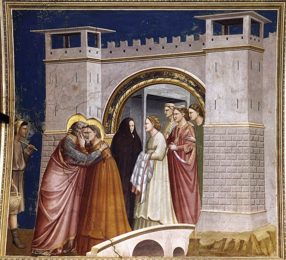 The Meeting at the Golden Gate - Giotto - WikiArt.org ...  The Meeting at ...