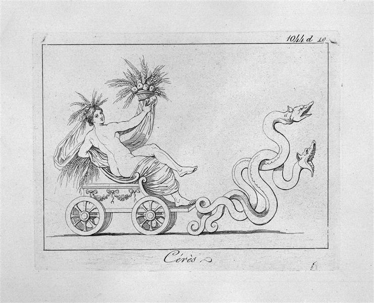 Ceres, c.1778 - Giovanni Battista Piranesi