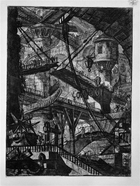 The Drawbridge - Giovanni Battista Piranesi