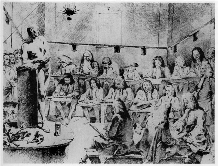 Nude study in an academy, c.1720 - Giovanni Battista Tiepolo