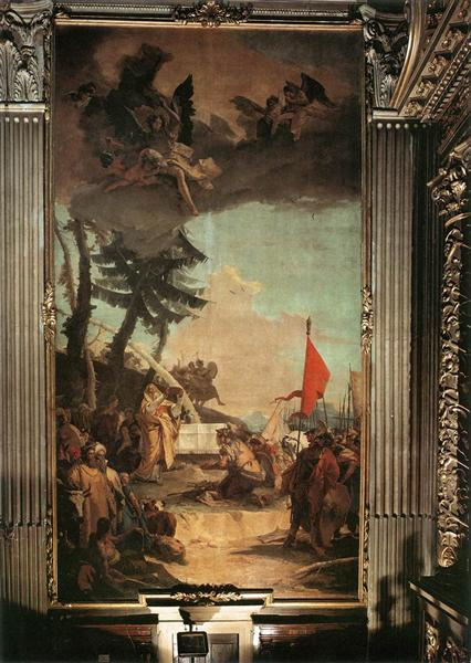 The Sacrifice of Melchizedek, 1740 - 1742 - Giovanni Battista Tiepolo
