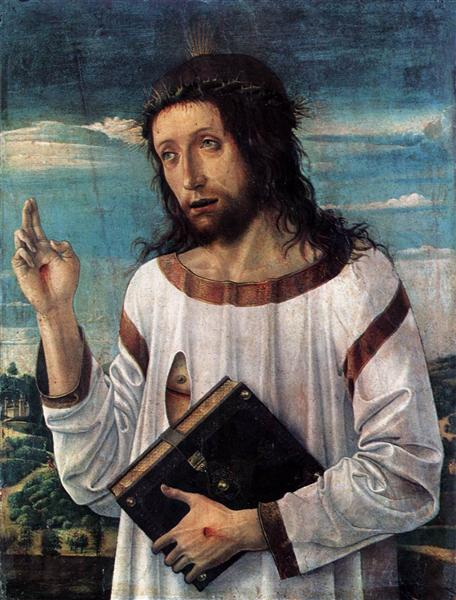 Christ Blessing, c.1460 - Giovanni Bellini