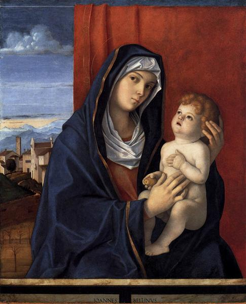 Madonna and Child - Bellini Giovanni