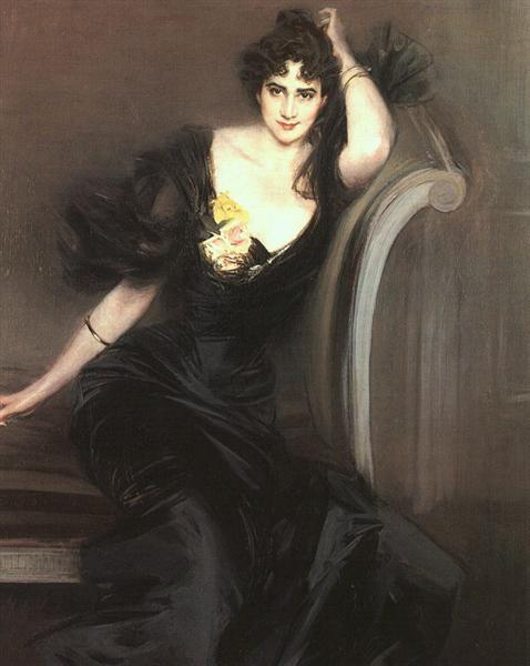 Lady Colin Campbell, 1897 - Giovanni Boldini