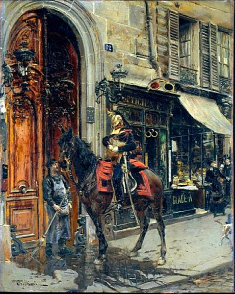 The Dispatch Bearer, 1879 - Giovanni Boldini