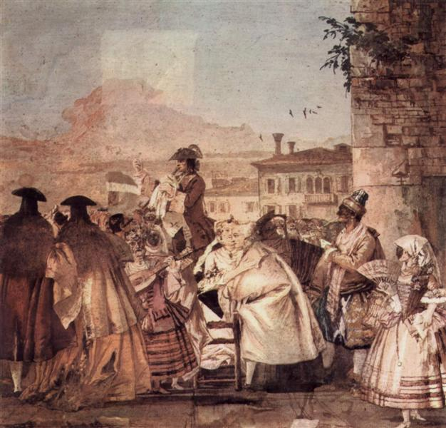 The barker, 1757 - Giovanni Domenico Tiepolo