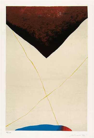 Dall´alto al Basso, 1972 - Giuseppe Santomaso