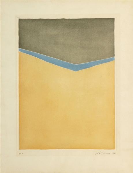 Untitled, 1968 - Giuseppe Santomaso