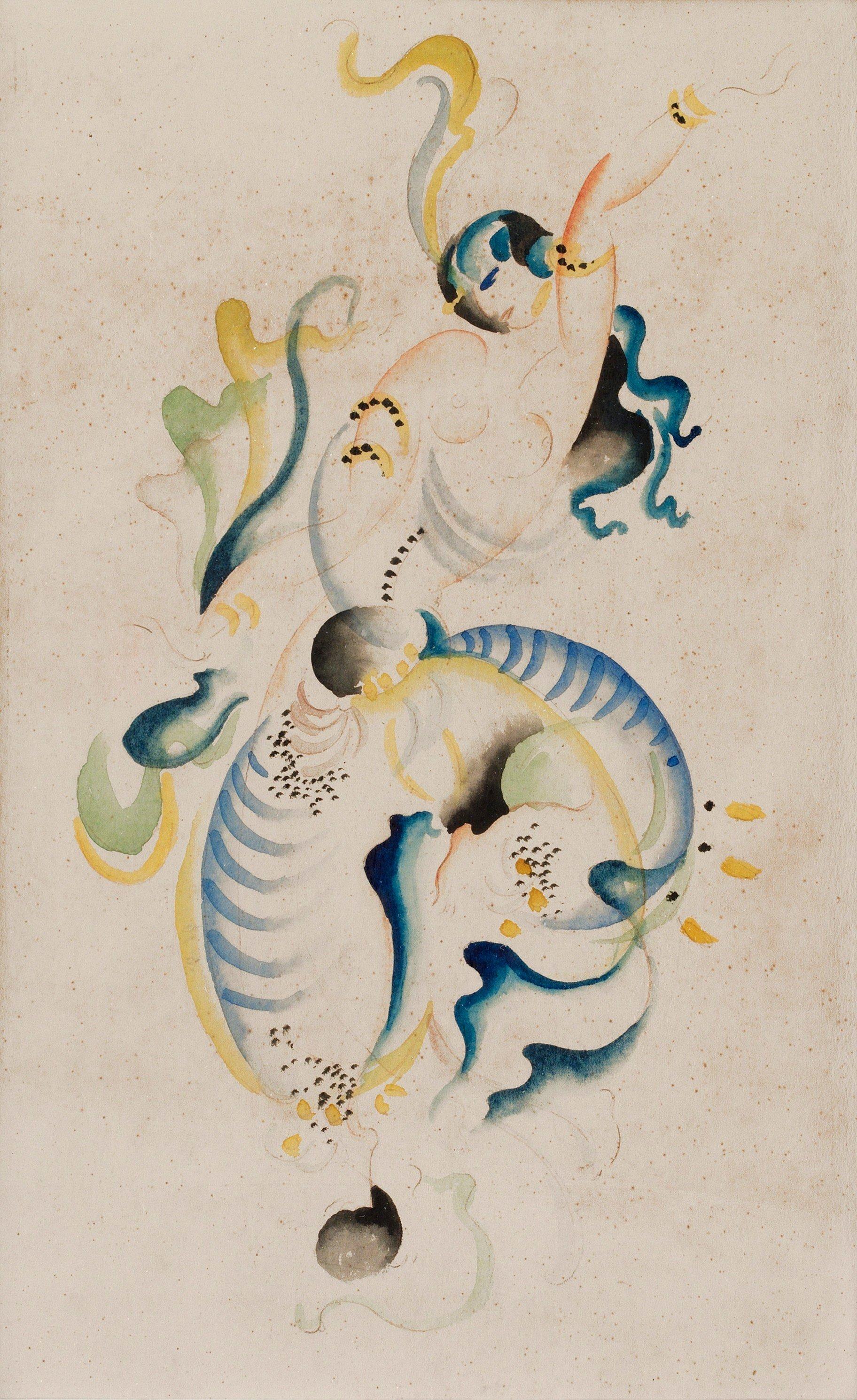 Orientalisk danserska