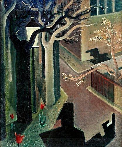 Shadows, twilight, 1929