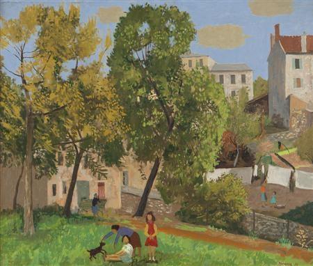BIÈVRES, VALLÉE DE CHEVREUSES, 1957 - Grégoire Michonze