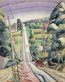 Eastern Road, Turramurra - Grace Cossington Smith