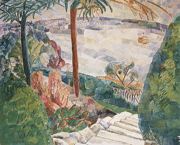 Harbour from Kirribilli, 1937 - Грейс Коссингтон Смит