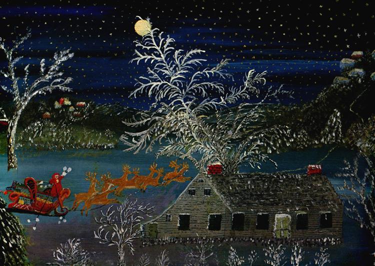 So Long Till Next Year, 1960 - Anna Mary Robertson Moses