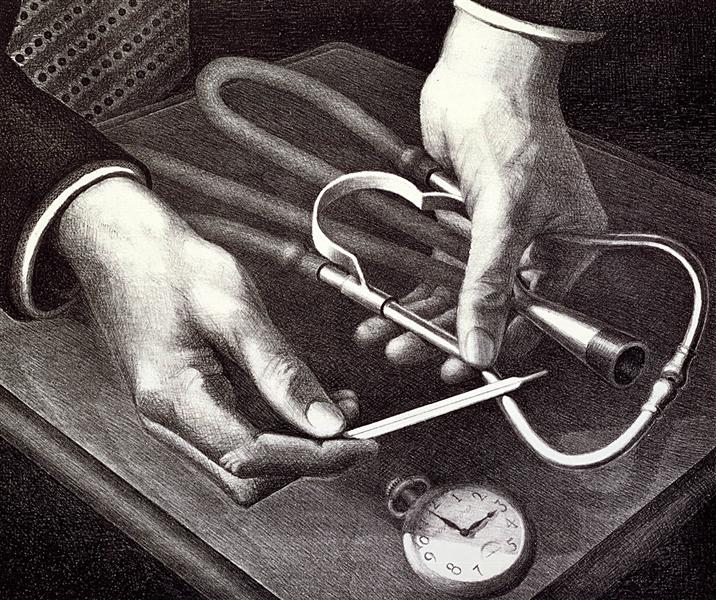 Family Doctor, 1940 - Grant Wood