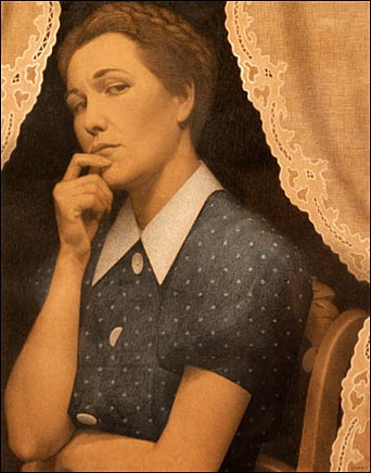 The Perfectionist, 1936 - Grant Wood