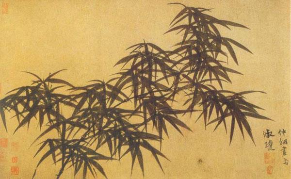 Ink Bamboo - Guan Daosheng