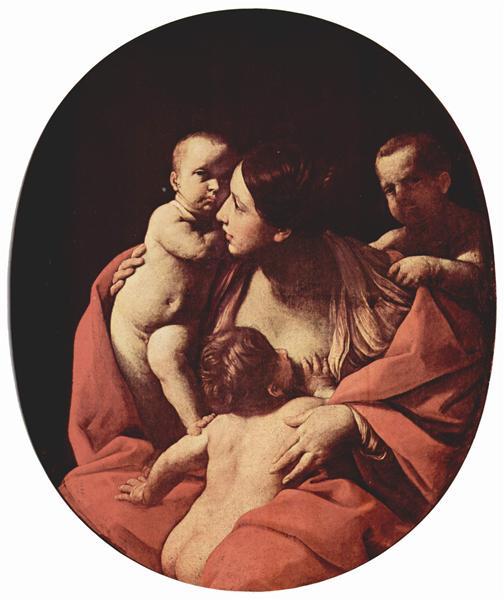 Charity, 1604 - 1607 - Guido Reni